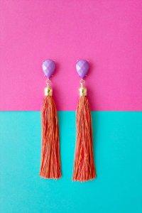 35 DIY Tassel Earrings For Summer Trend