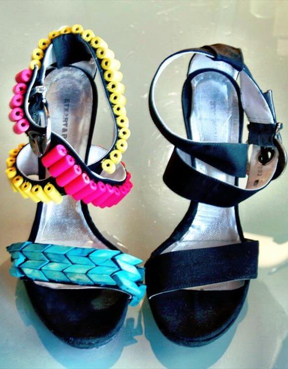 transform basic sandals into stunning