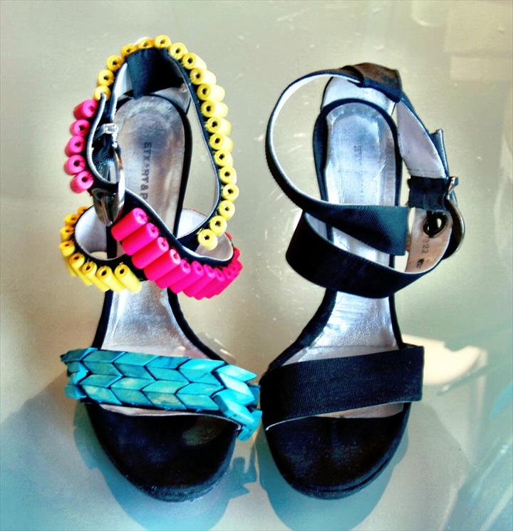 transform basic sandals into stunning