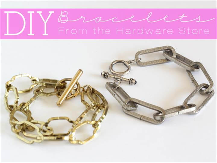 DIY Bracelets From The Hardware Store
