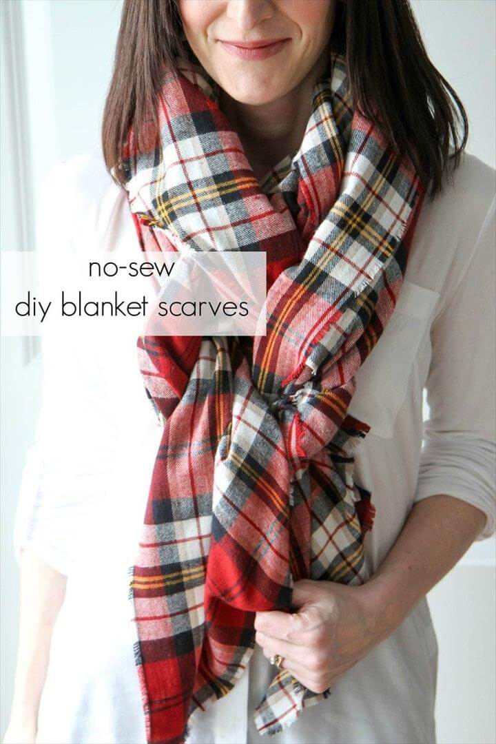 Blanket Scarf, diy scarf, diy fashion, scarf tutorial, scarf pattern