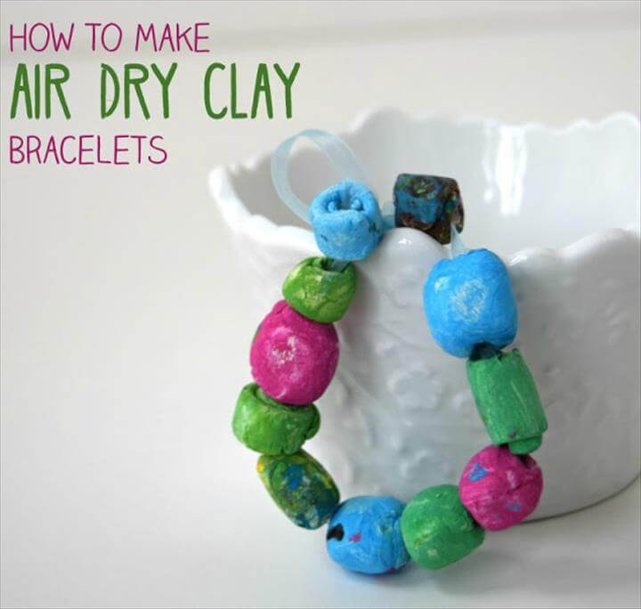 DIY Bracelet - Air Dry Clay