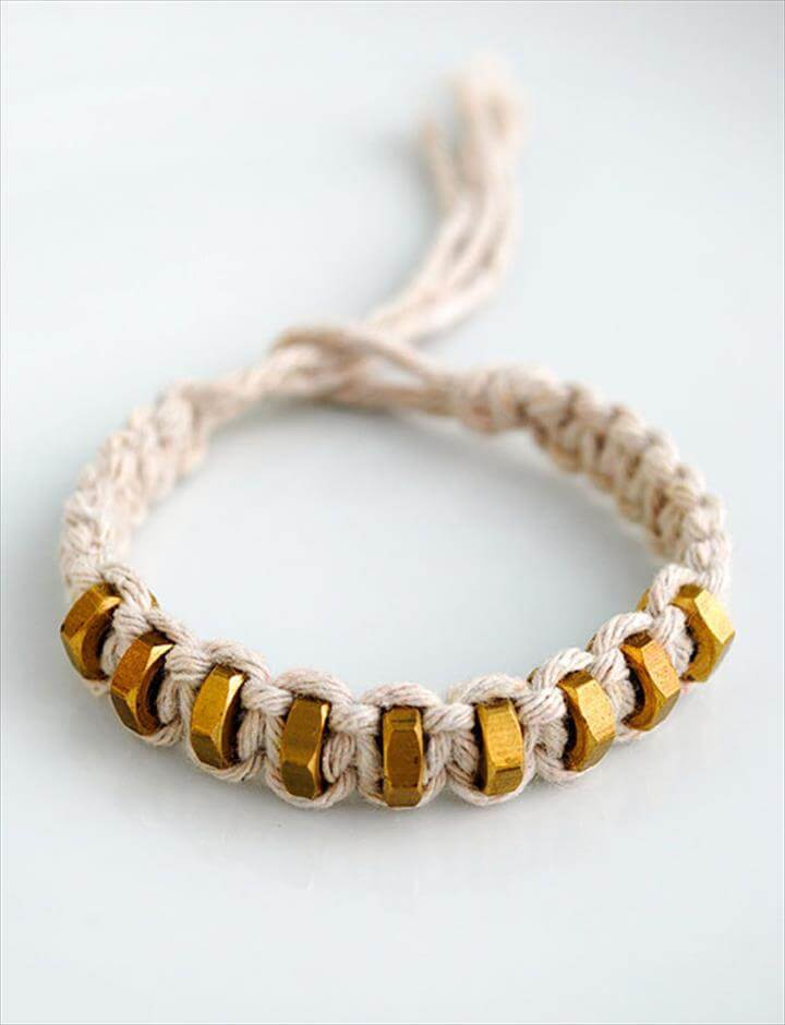 diy fun bracelet tutorial
