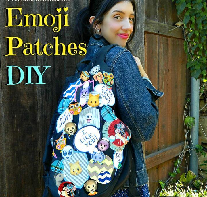 Emoji Patches DIY