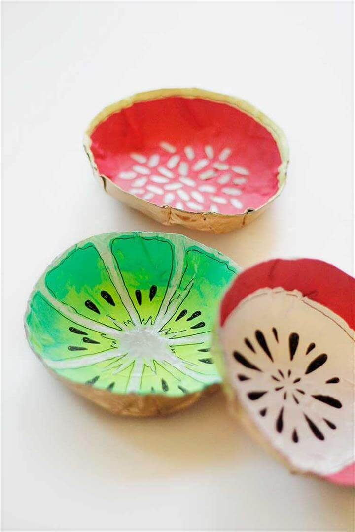 Simple DIY Fruit Bowls