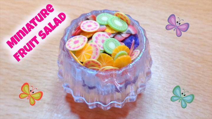 Miniature Dollhouse Fruit Salad