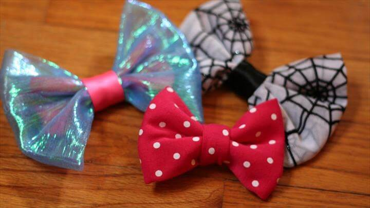 Sew Fabric Bows