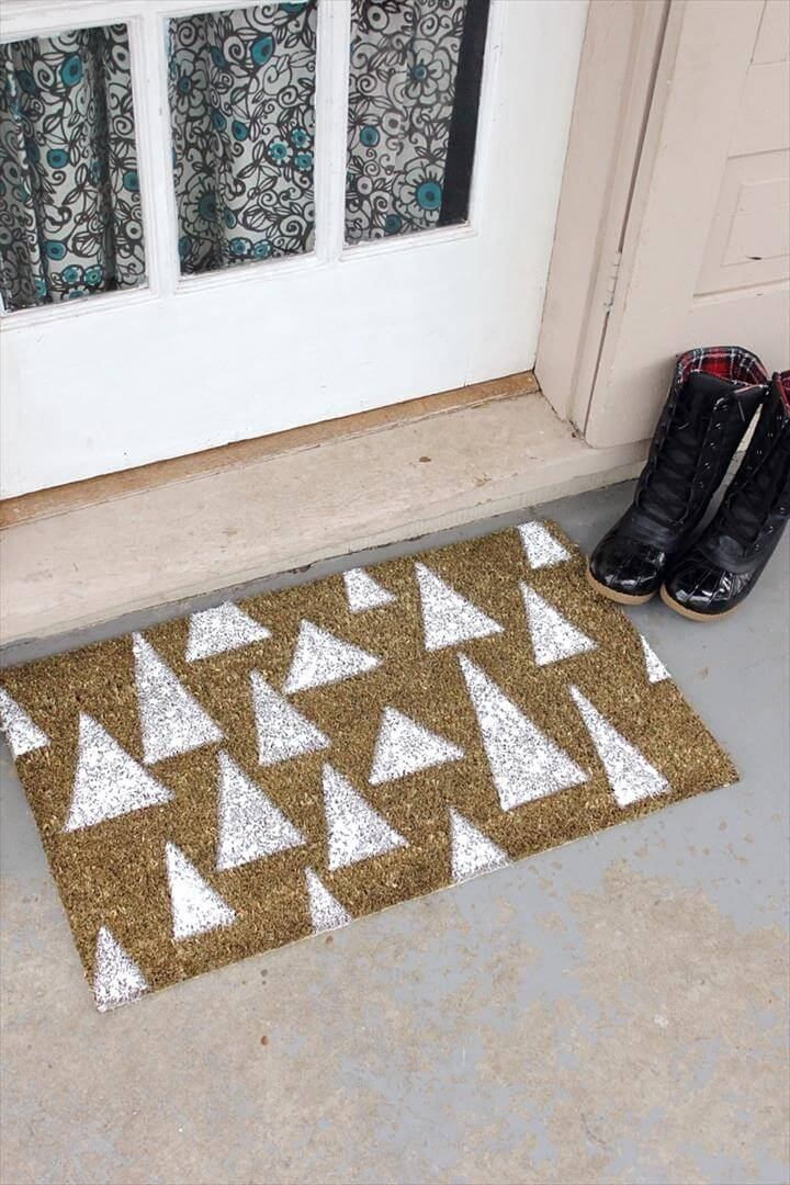 home decor, diy doormat