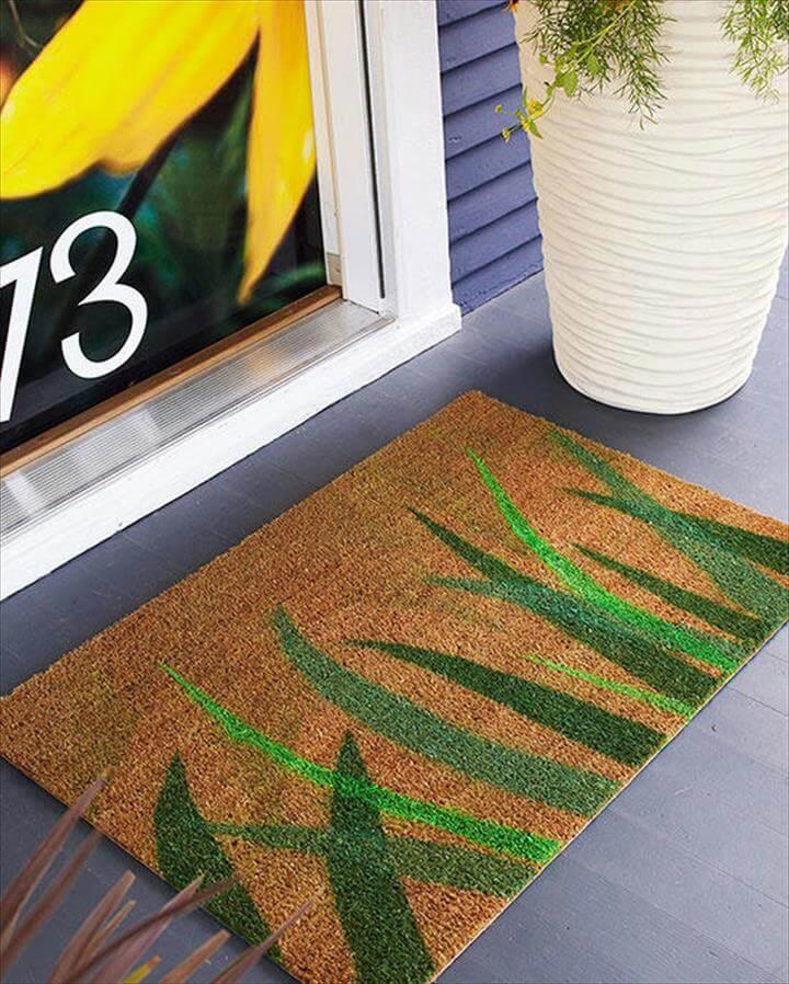 Paint a Doormat