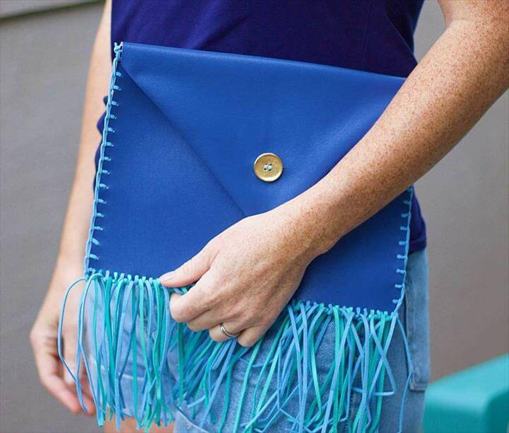 DIY No-Sew Clutch