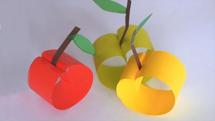 Diy paper crafts How to make paper apples
