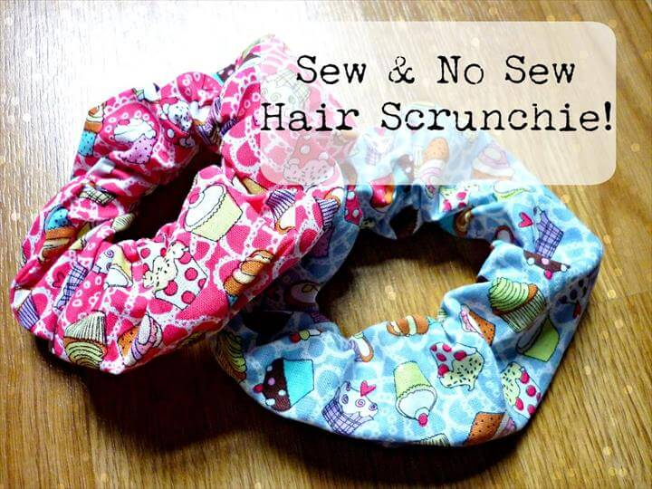 DIY Hair Scrunchie
