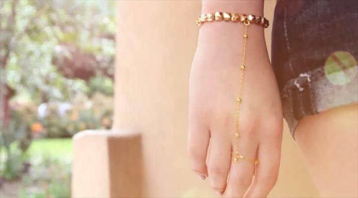 Slave Bracelet, Wrist Ring Bracelet