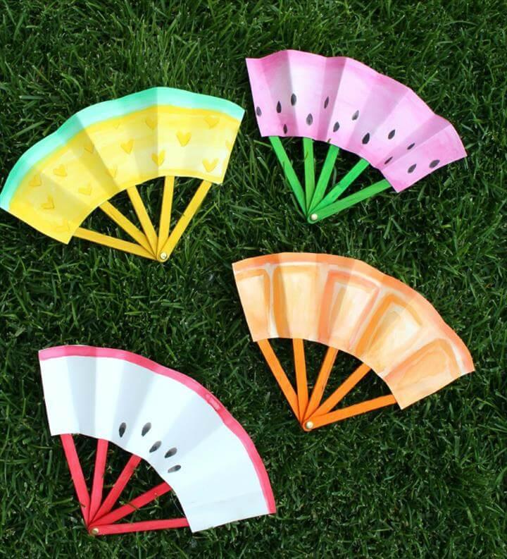 Paper Fruit Fan