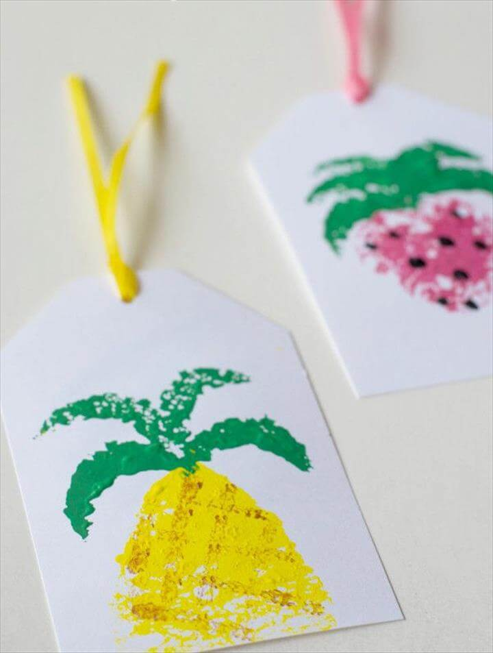 summer fruit tag