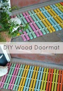 DIY Wood Doormat For The One Tool Challenge