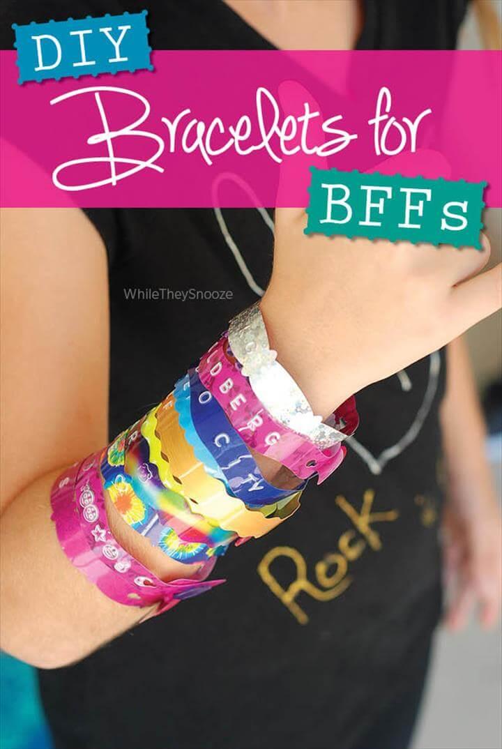 DIY Bracelets for BFFs