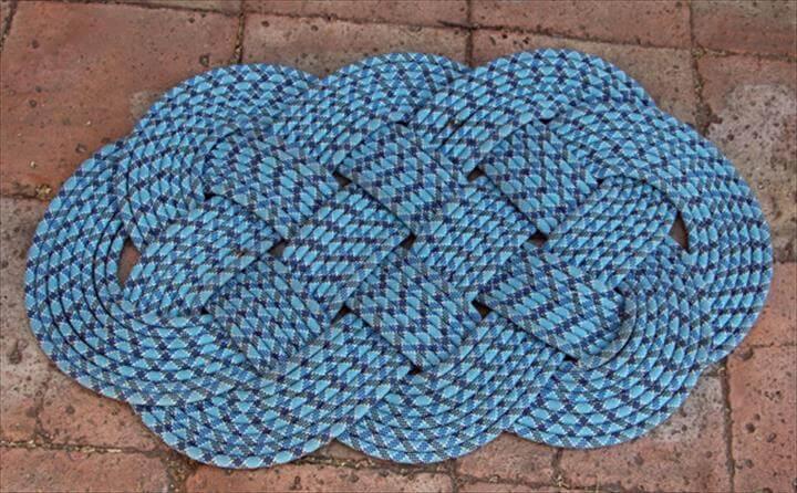 DIY – Nautical Knot Doormat