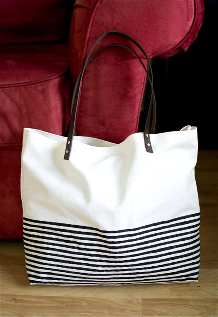 diy tote bag, bag ideas