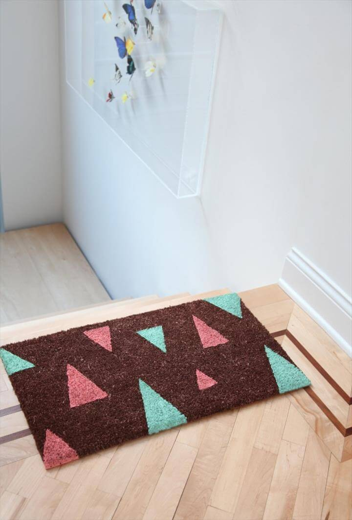 doormat less boring & doormat-ish, more stylish