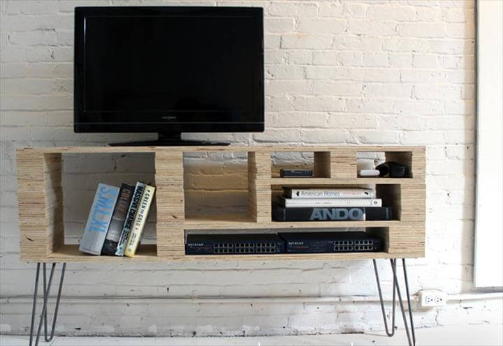 DIY TV Stand Ideas For Your Weekend Home Project