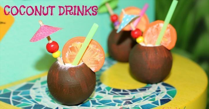 DIY American Girl Coconut Drinks • American Girl Ideas