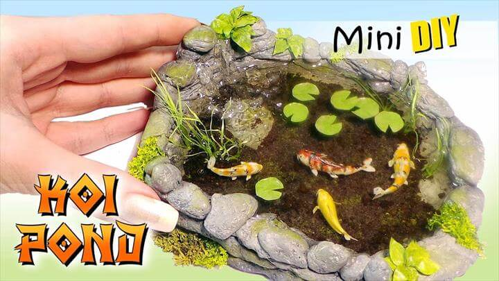 Miniature Koi Pond Tutorial
