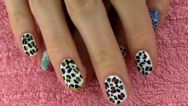Nail Art Without any Tools! DIY Nail Designs with toothpick