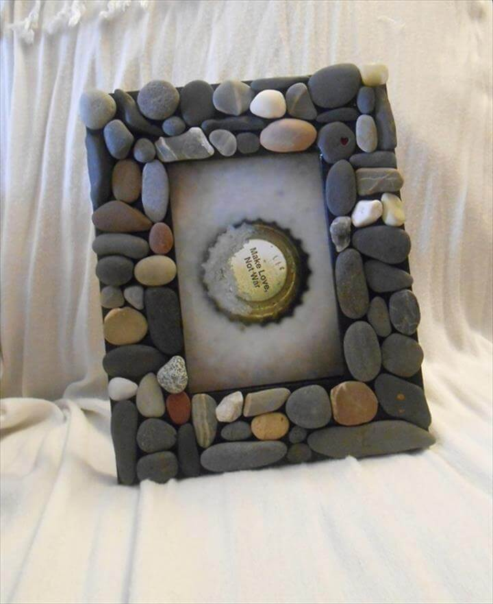 DIY Home Decor Ideas With Pebbles And River Rocks