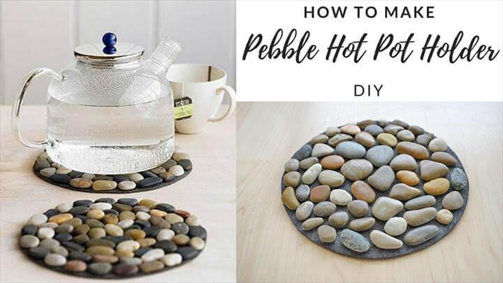 Pebble Hot Pot Holder - Stone Mat