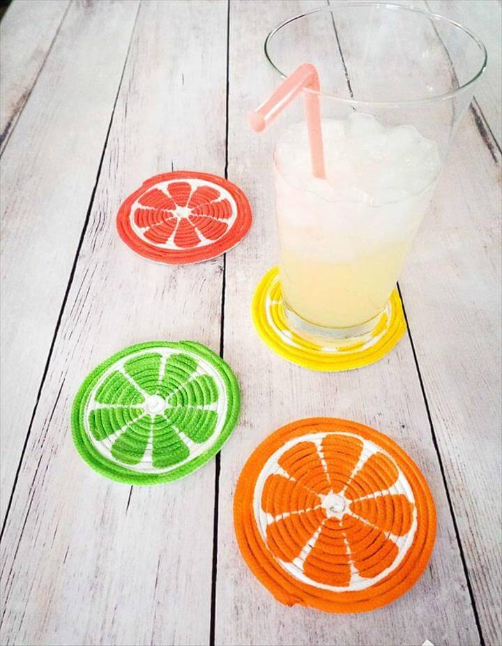 DIY Rope Coaster from Practically Functional