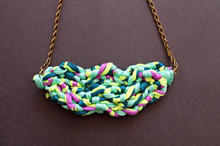 trendy and eco-friendly girls necklaces? Easily use the overhand knots