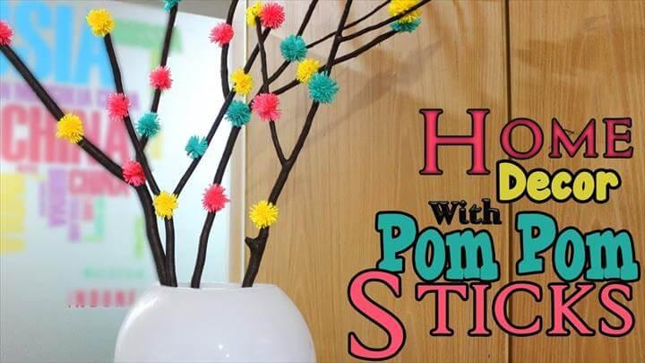 Pom Pom Tree Branches