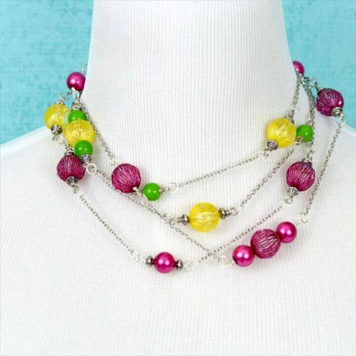 Bead & Chain Necklaces