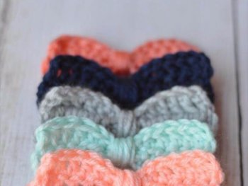 Easy Crochet Patterns - Cute Crochet Bows