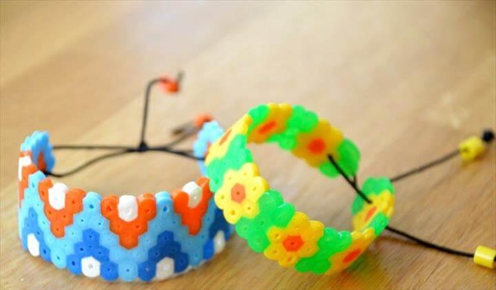 Perler Bead Bracelets