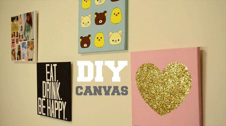 DIY Wall Decor: Custom Canvas