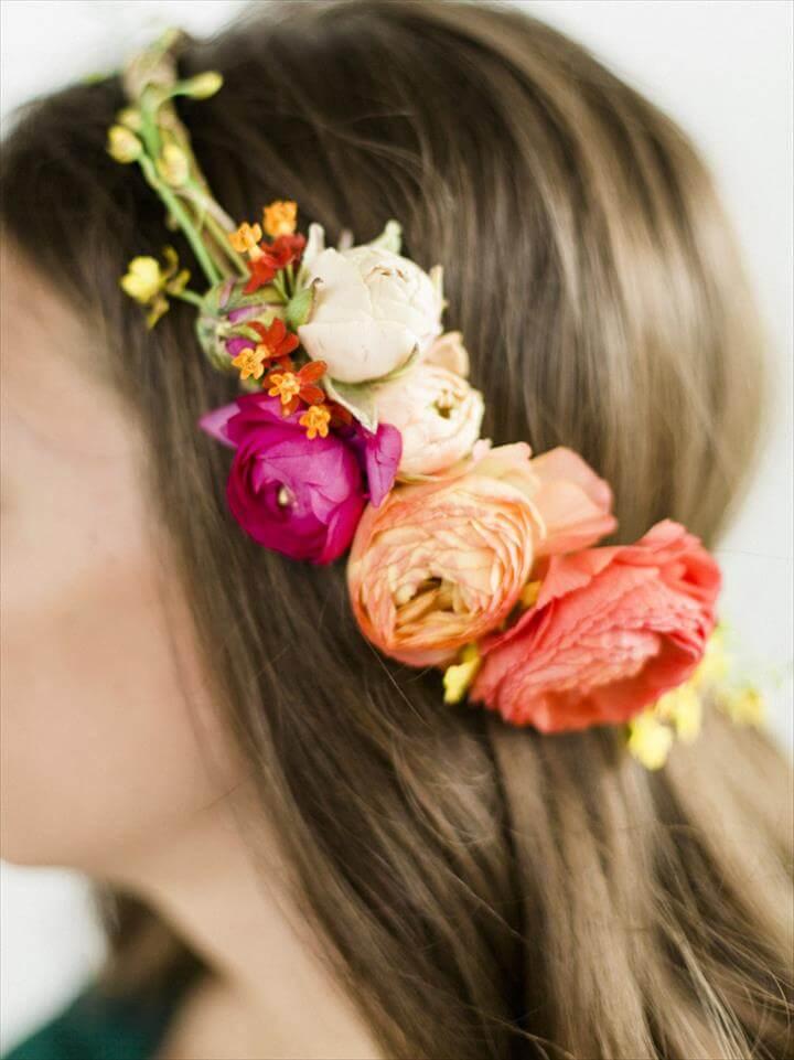 Summer Floral Halo