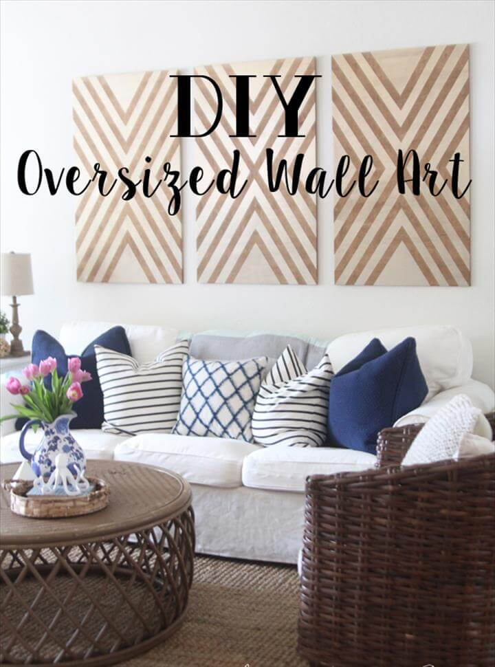 Diy Oversized Wall Art