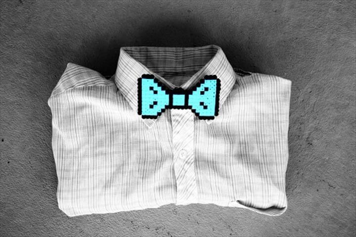 DIY Hama Bead Bow Tie