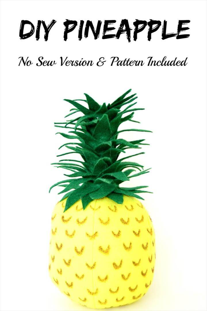 DIY Pineapple - How to make a 3D pineapple and uses for it
