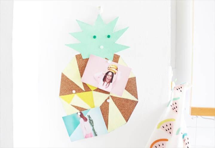 DIY Pineapple Pin Board