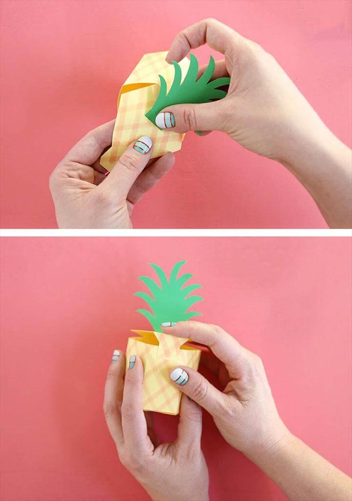 Gift Box Template DIY