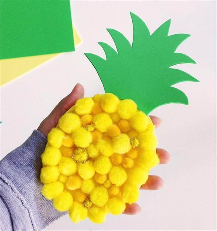 pom pom pineapple