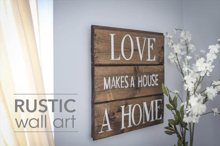 DIY Rustic Wall Art
