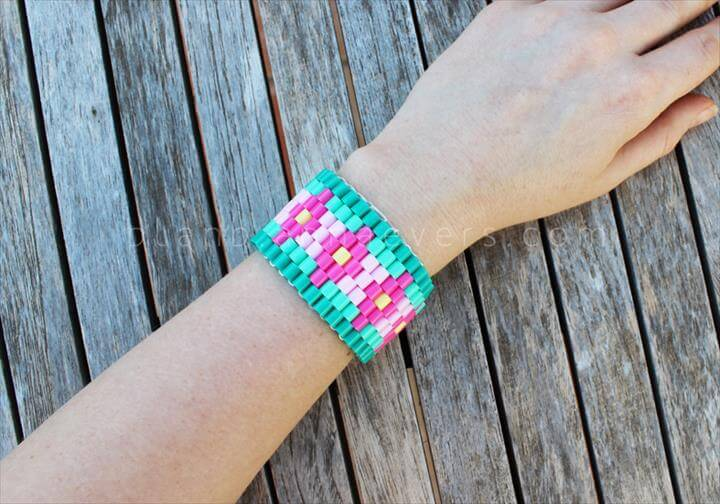 Plan B anna evers DIY Hama beads bracelet