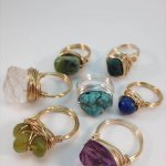 Wire Rings, Wire Wrapped Rings