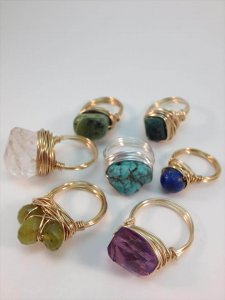 10 DIY Lovely Wire Rings –  You Can Try These