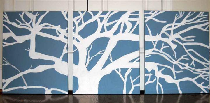 Large Wall Art Diy