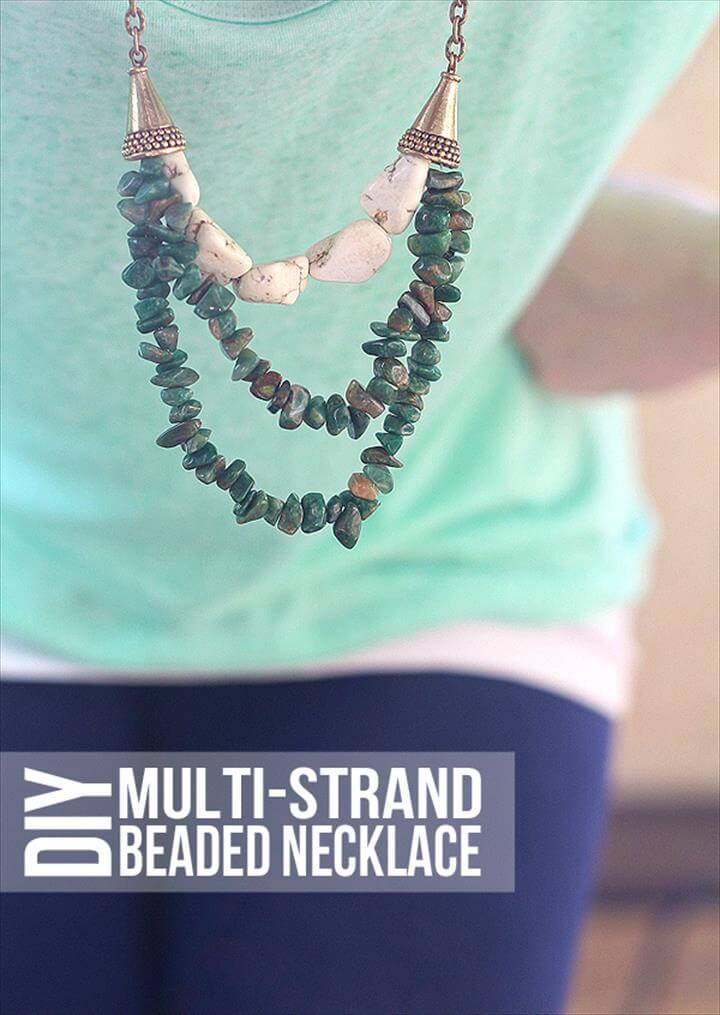 Beaded Multi-strand DIY Necklace